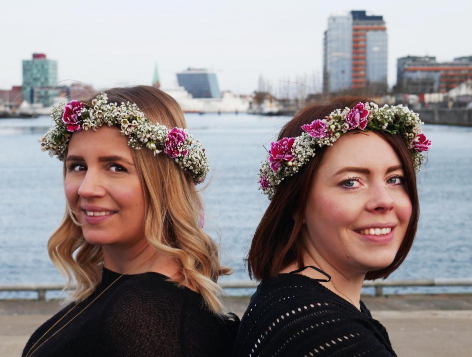 Stefanie Siefert und Deike Brücker (v. li.) fiebern voller Vorfreude der Eröffnung ihres Träumewerks entgegen