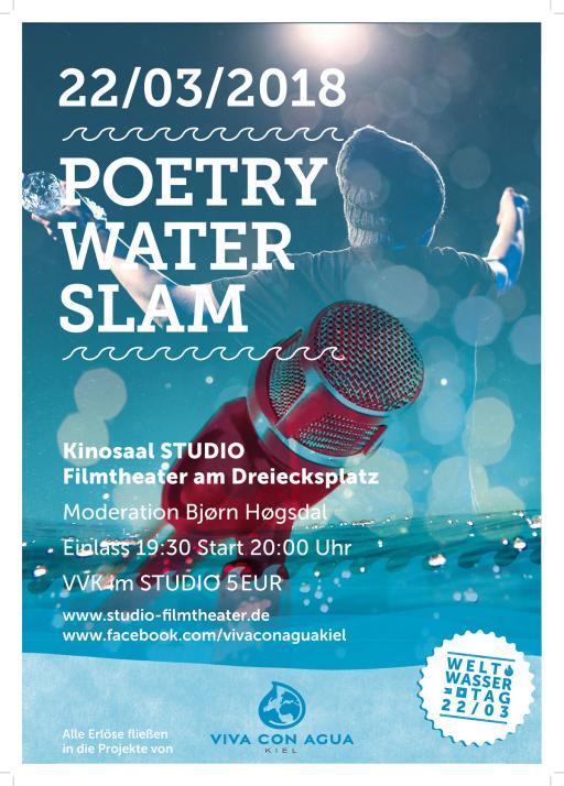 """Wortgewaltiger """"Poetry Water Slam"""""""