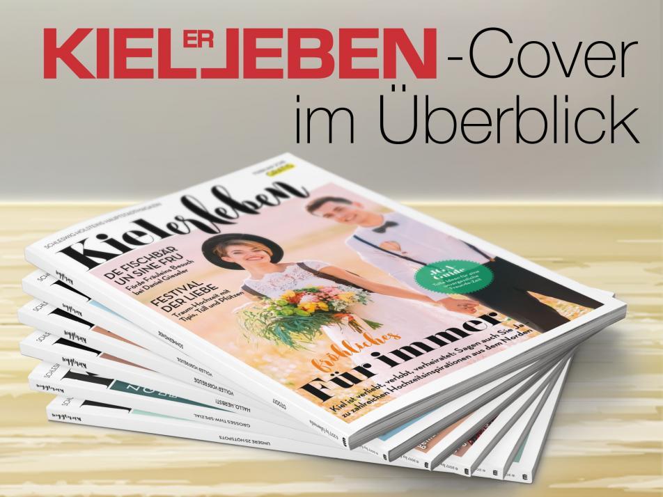 Hier finden Sie alle KIELerleben-Cover im Überblick