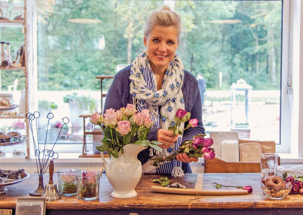 Stefanie Rathjens hat ein Händchen für Dekoration und ausgefallene Möbelstücke