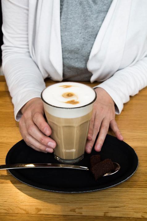 Mediaberaterin Gesa liebt den Stil der Impuls Kaffeemanufaktur