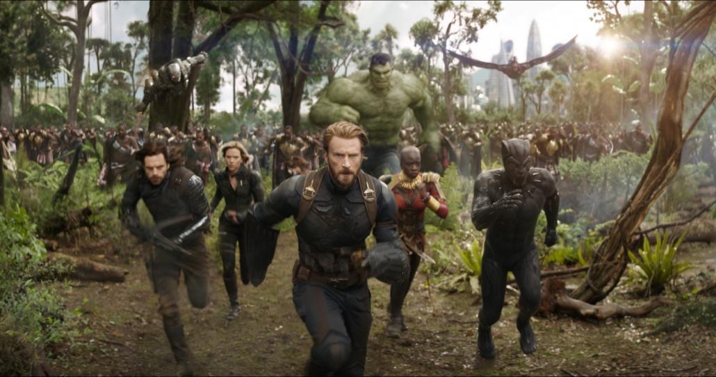 Die Avengers gehen vereint gegen das Böse an