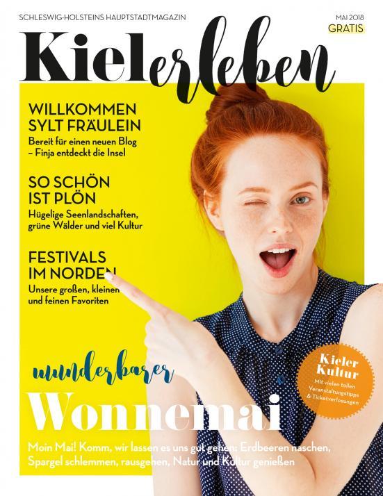 Das Cover der Mai-Ausgabe der KIELerleben