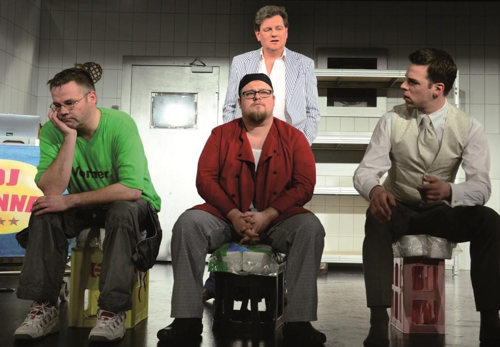"""Das Stück """"Een Platz för Keerls"""" ist eine heitere Geschlechterkampf-Komödie"""
