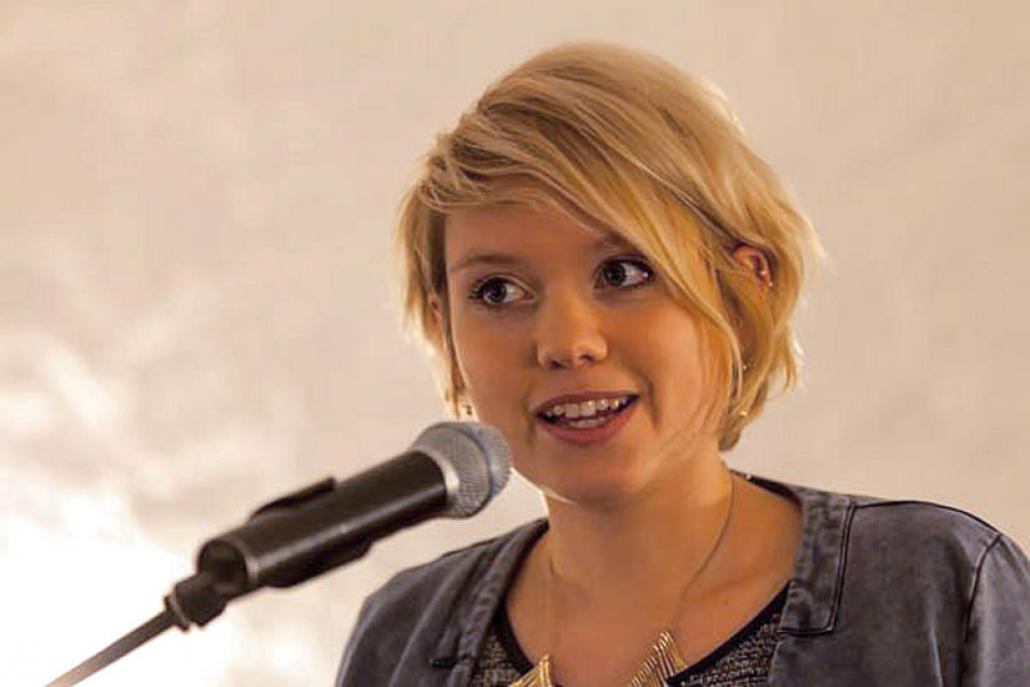 """Die Vorsitzende der Ratsfraktion Die Grünen, Lydia Rudow, ist Vertreterin des Bündnisses """"Wir machen Stadt"""""""