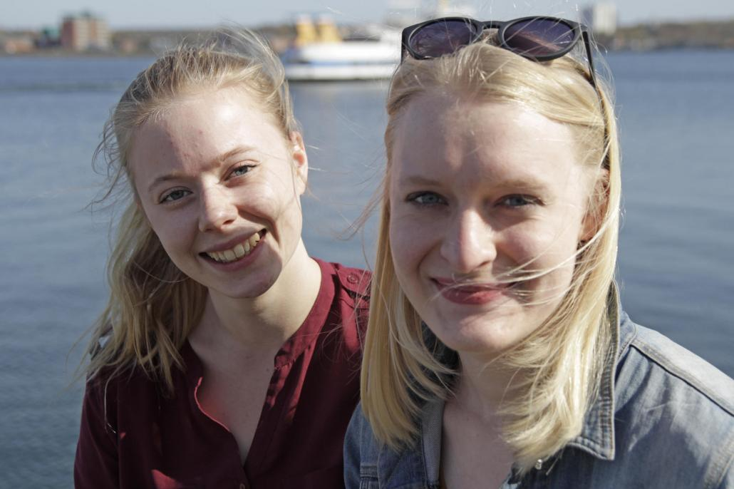 Johanna und Anja