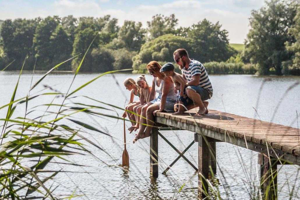 Entspannung in der Natur für die ganze Familie