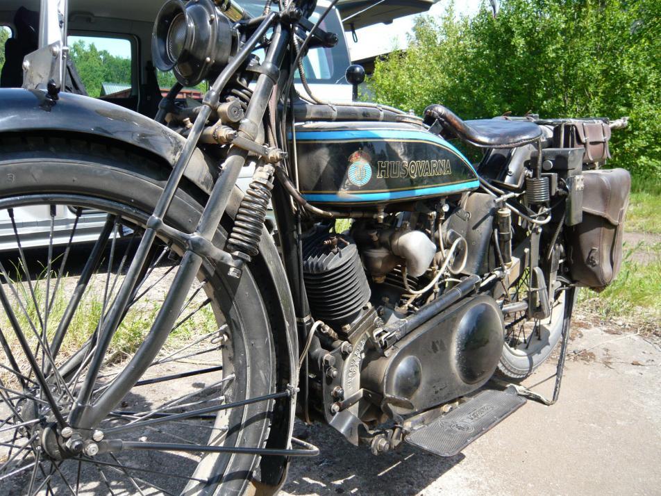 Auch Motorrad-Fans kommen bei der Oldtimermesse auf ihre Kosten