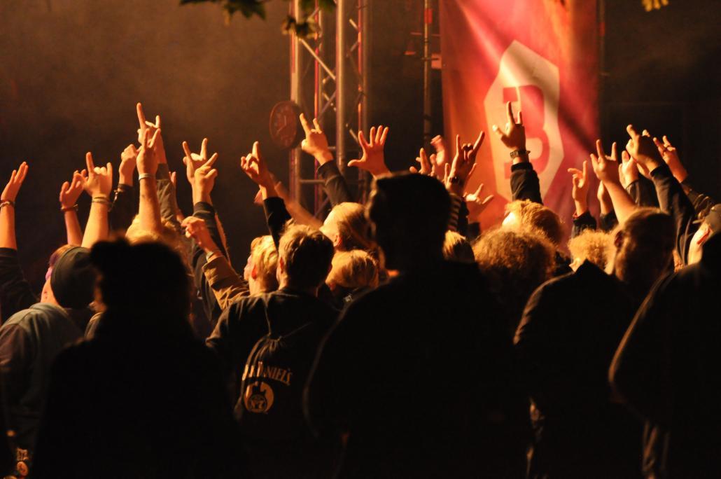 J wie Junge Bühne: Hier gibt es Konzerte von nachmittags bis nachts