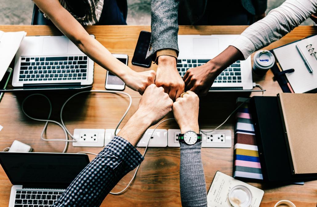 Teamwork ist bei YES! ein Muss