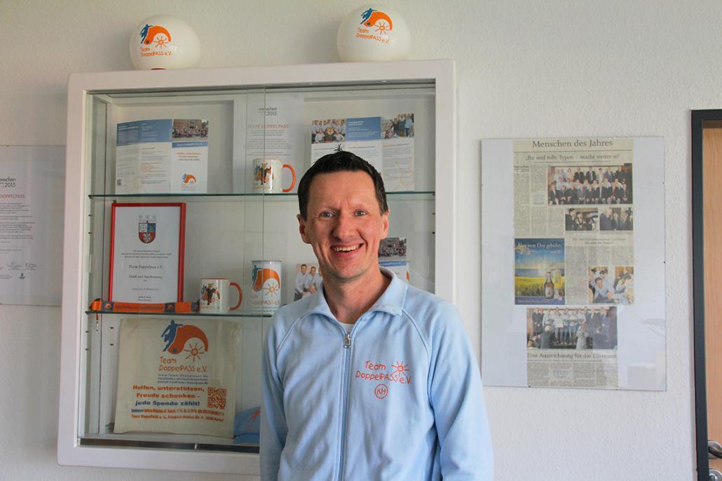Kim Häusgen ist mit dem Team DoppelPASS e.V. aktiv, um krebskranken Kindern Gutes zu tun