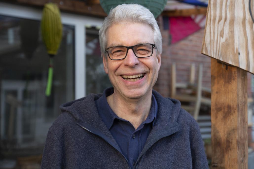 Volker Harbeck engagiert sich mit Leib und Seele im MUDDI Markt-Vorstand