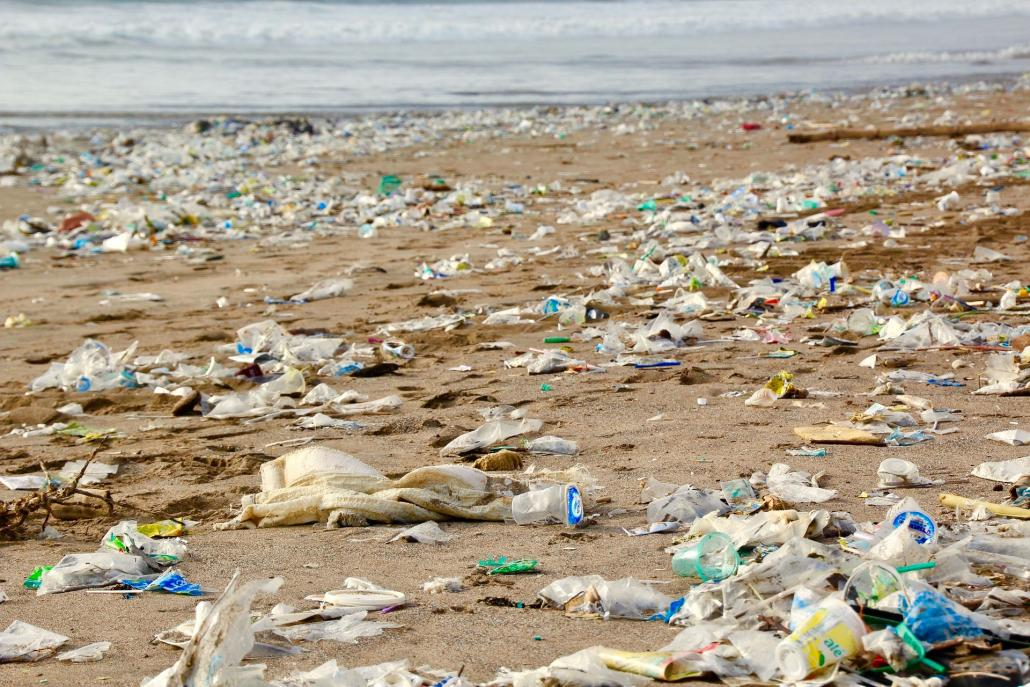 Ganz so schlimm sieht es an den meisten Ostseestränden noch nicht aus, aber trotzdem muss sich etwas tun