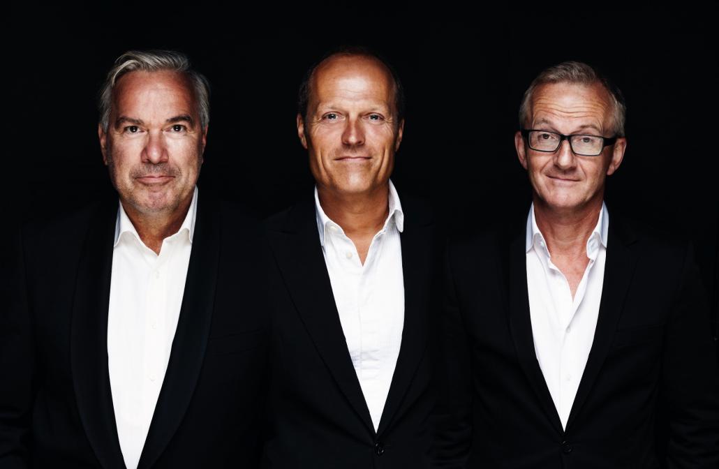 Stefan Gwildis, Joja Wendt und Rolf Claussen sind die Söhne Hamburgs