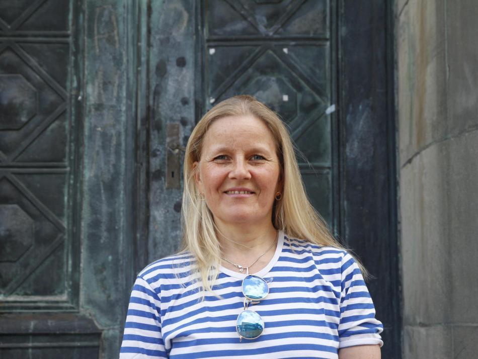 Für die Inhaberin des finnischen Standes, Annika Salonen, ist die Kieler Woche der Meilenstein des Jahres – und das bereits seit 1978
