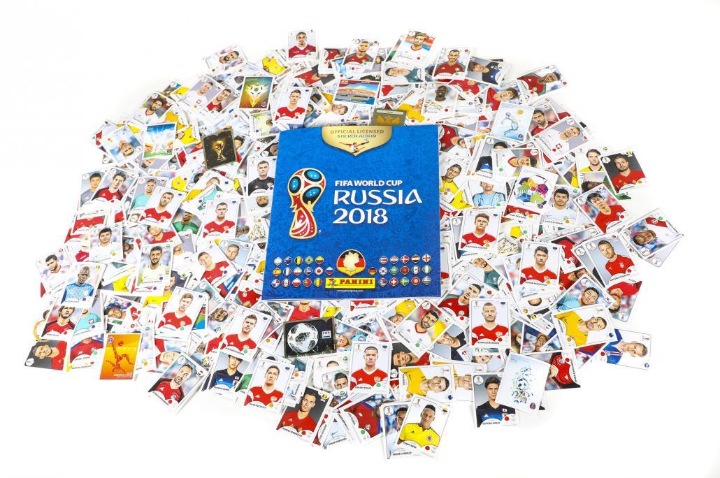 So sieht es aus, das diesjährige WM-Panini-Album. 682 Sticker müssen gesammelt werden, um es zu komplettieren