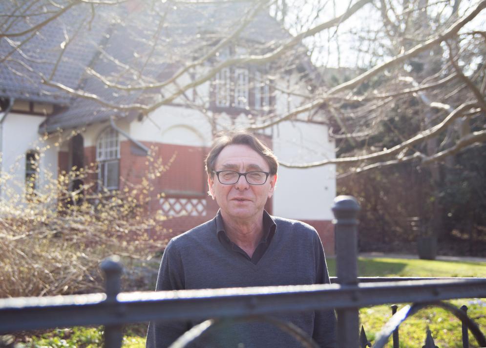Dr. Wolfgang Sandfuchs leitet den Literaturhaus Schleswig-Holstein e. V.