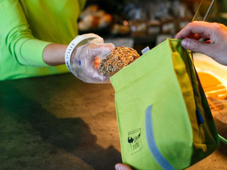 Tolle Tüüte: Die wiederverwendbaren Täschchen vermeiden eine Menge Abfall
