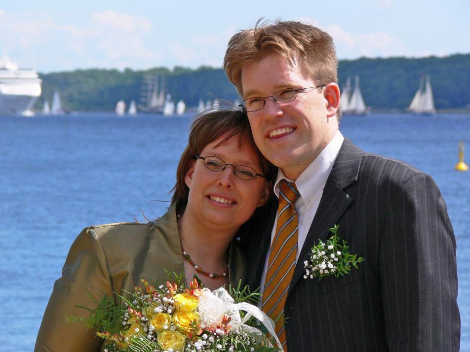 ...Yvonne und Jan bereits 1999