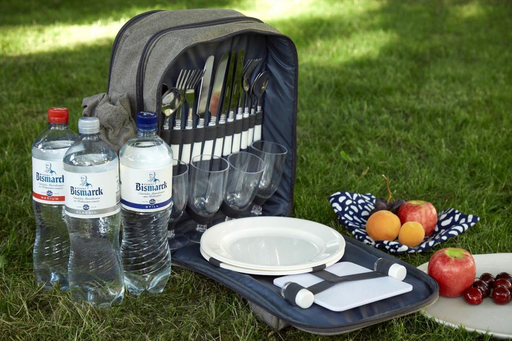 Diesem Picknick-Rucksack legen wir zwei SHMF-Tickets bei