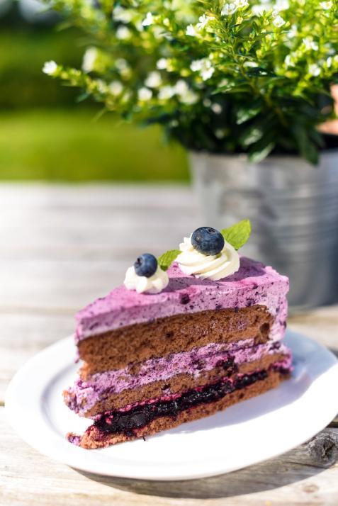 """Der Schlemmertörn, auch """"Tour-de-Torte"""" genannt, führt an vielen süßen Cafés entlang"""
