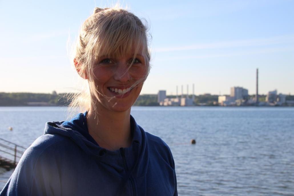 Lena Hogenkamp ist begeisterte SUP-Trainerin