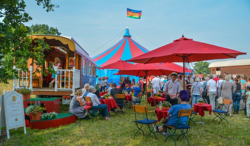 Der Circus Ubuntu macht auch in diesem Jahr im Werftpark Station
