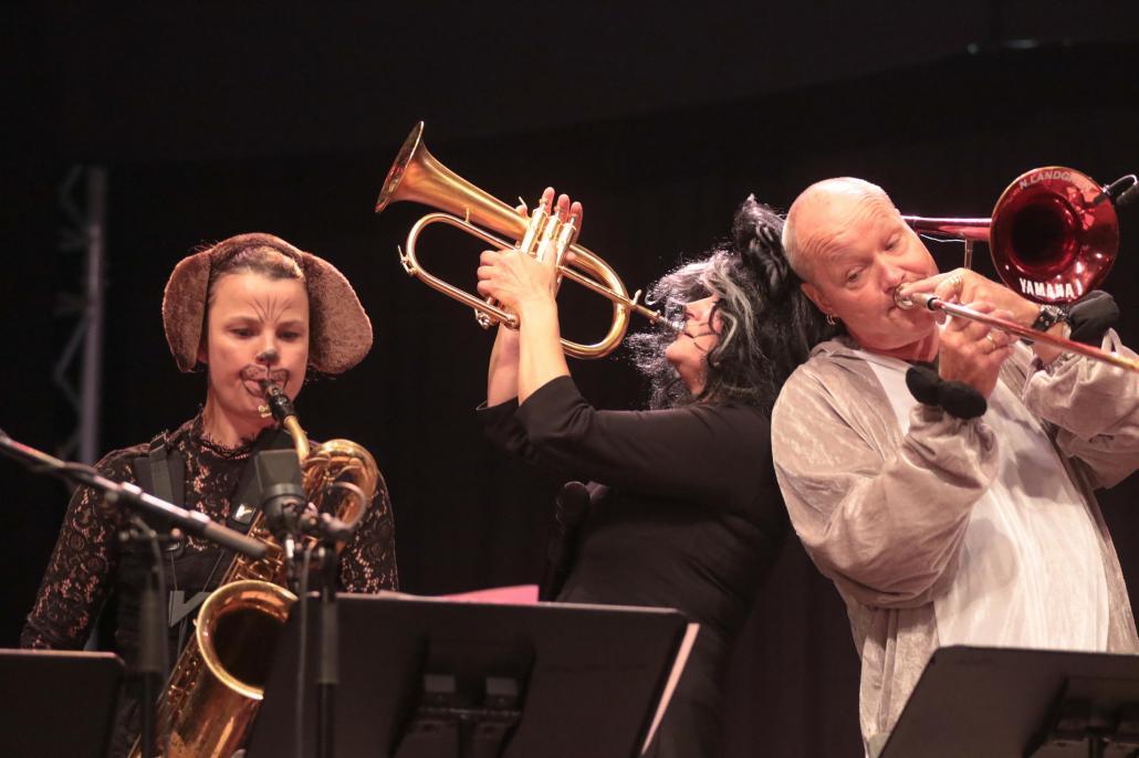 Die Bremer Stadtmusikanten mit Bild Landgren