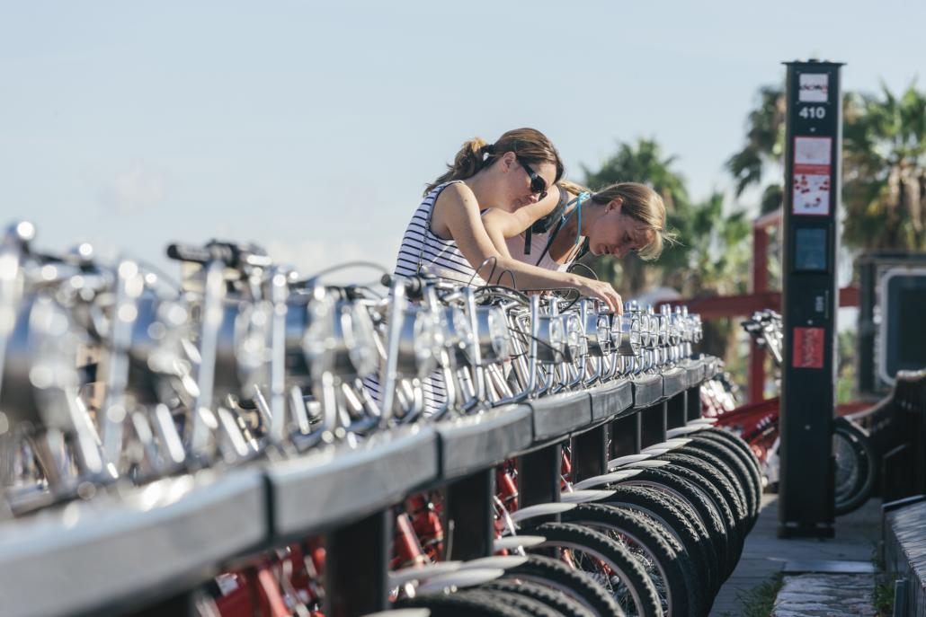 Ein Fahrradleihsystem könnte in Kiel für zusätzliche nachhaltige Mobilität sorgen