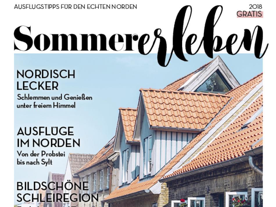 Das E-Paper Sommererleben gibt es ab sofort zum kostenlosen Download auf www.kielerleben.de