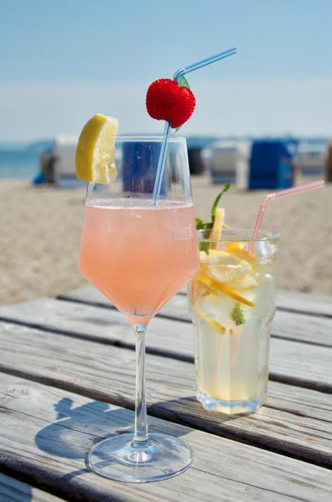 ...und dazu kühle Cocktails und frische Limonaden