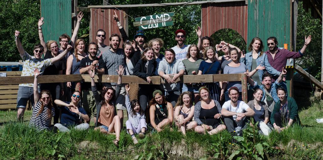 Die Kieler Crew im Sommer 2018