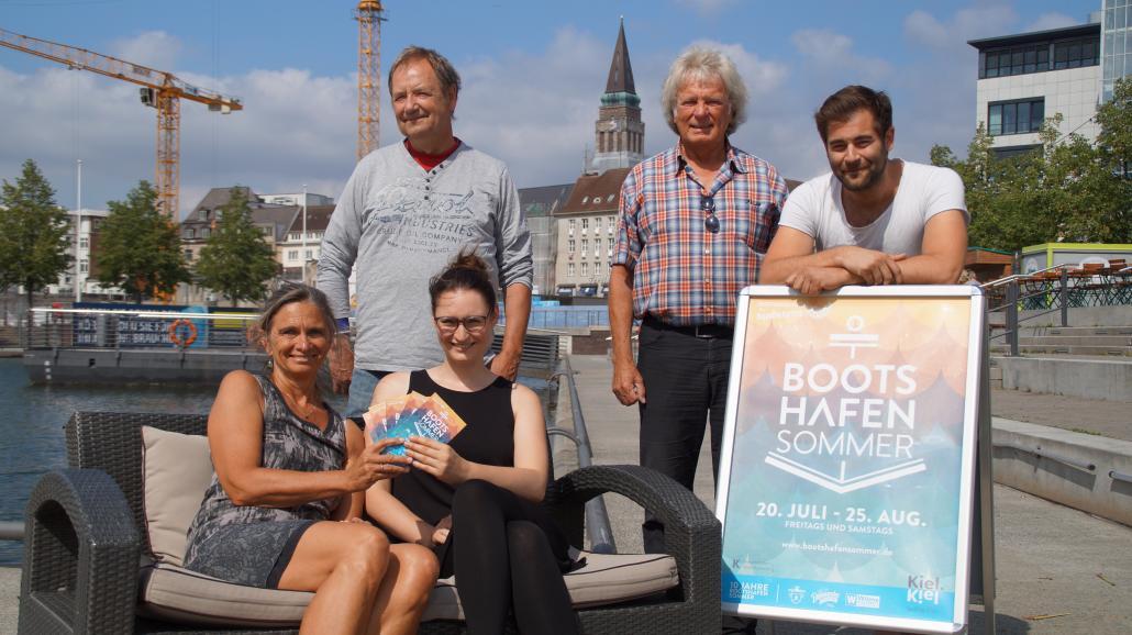 Die Organisatoren und Partner des Bootshafensommers freuen sich auf das Jubiläumsevent