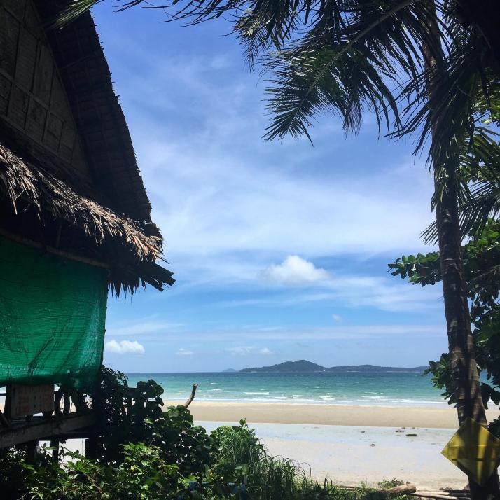 Paradiesischer Strand auf Koh Chang, eine Insel im Golf vonThailand