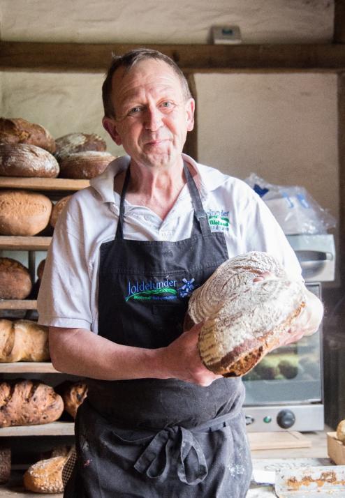 Dank der Joldelunder Bio-Bäckerei lässt sich das Lebensgefühl vergangenerZeiten in Molfsee nicht nur besichtigen, sondern auch schmecken