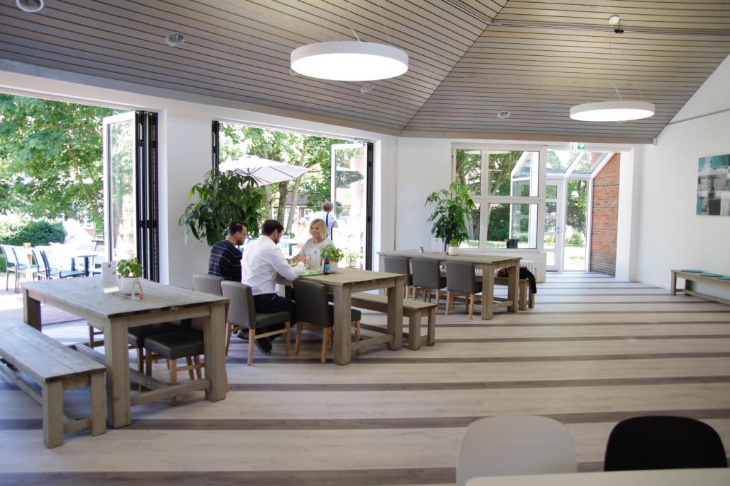 P3 – Die Kantine im Posthorn bietet eine gemütliche Atmosphäre und ein frisches Mittagessen