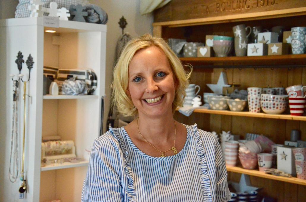 Inhaberin Britta Hakemann hat ihren Laden mit viel Herzblut aufgebaut