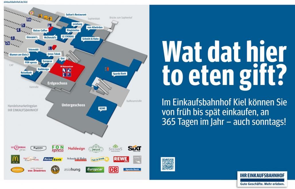 Einkaufsbahnhof Kiel