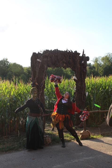 Gruselspaß im Maislabyrinth