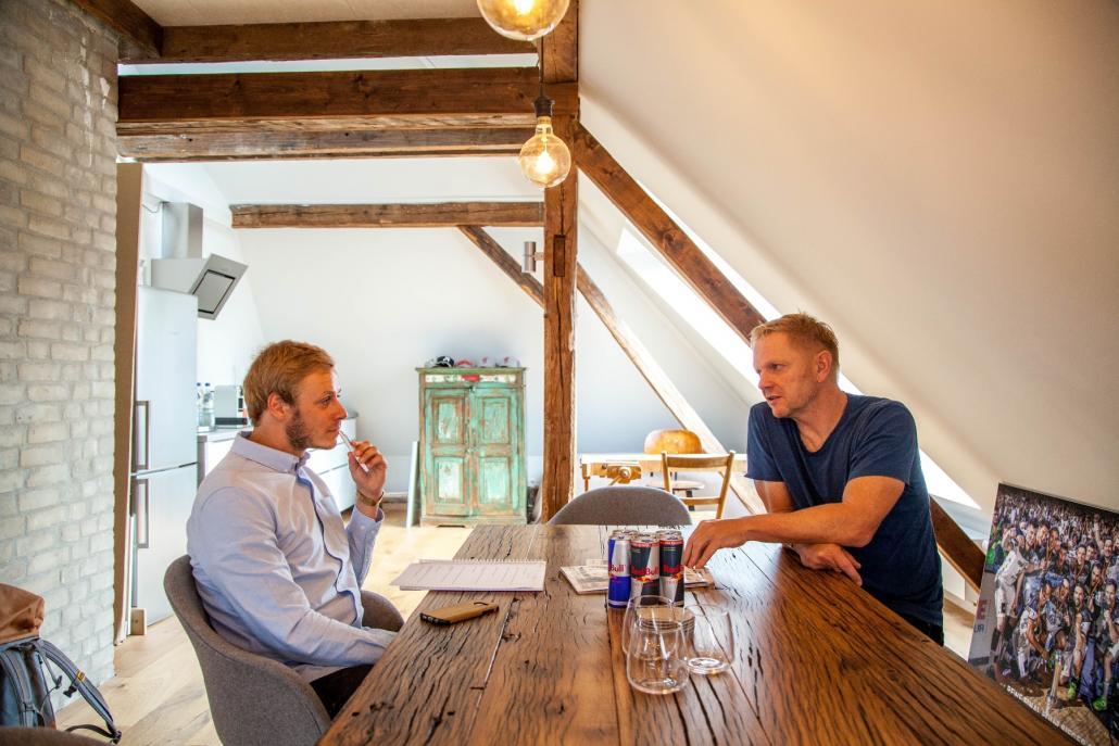 Im Gespräch mit Redakteur Bastian