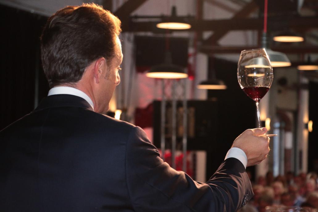 So war das Riedel Weinglas-Tasting