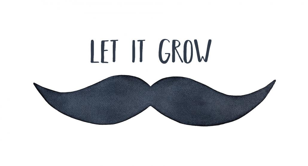 Let It Grow im Movember!