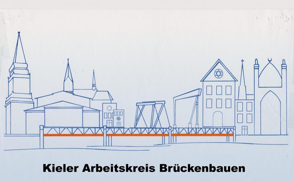"""Das Logo des Arbeitskreise """"Brückenbauen"""""""