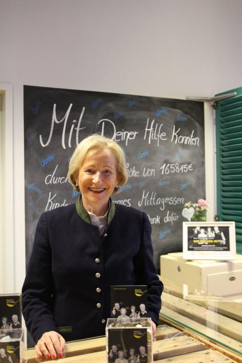 Die ehemalige Oberbürgermeisterin Angelika Volquartz ist Initiatorin und Botschafterin von Mach MITTAG e.V.