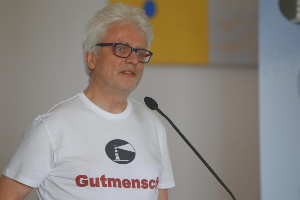 """Geschäftsführer Martin Link setzt sich für die Flüchtlinge in Schleswig-Holstein ein: """"Wir bauen mit an einer echten Willkommenskultur, die Geflüchteten und Eingewanderten auf Augenhöhe begegnet. Und wir schaffen das!"""""""