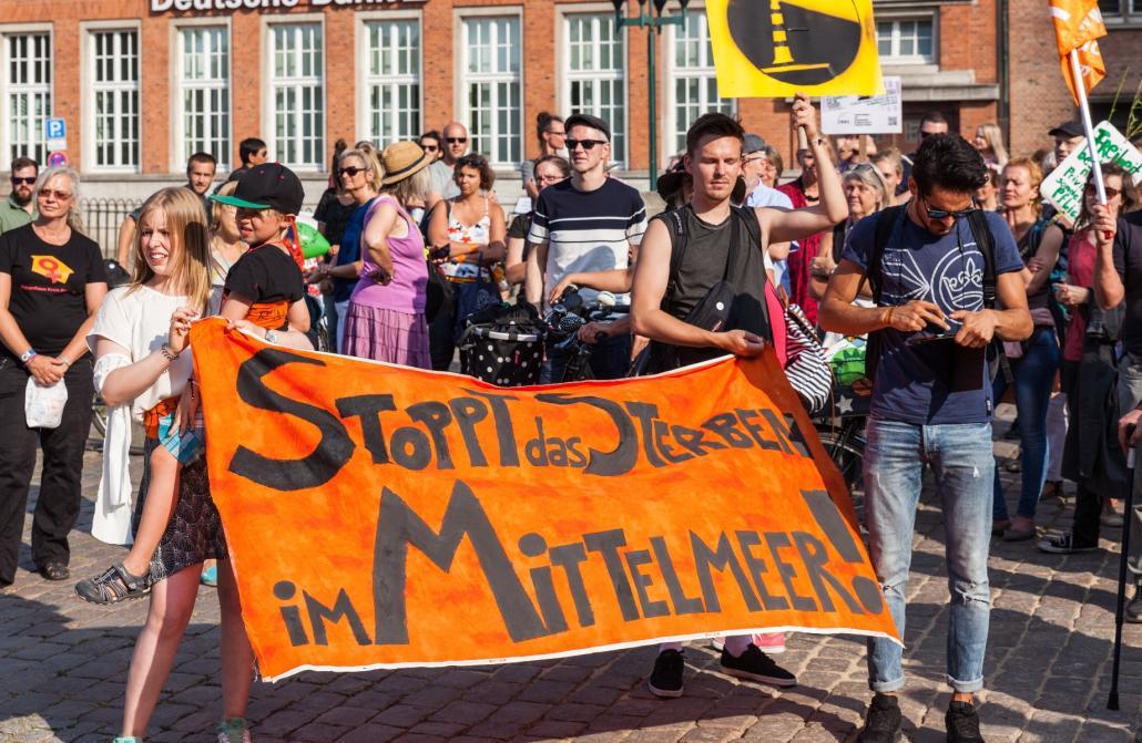Der Flüchtlingsrat Schleswig-Holstein e.V. setzt sich mit unterschiedlichen Projekten für ein herzliches Willkommen von Flüchtlingen ein