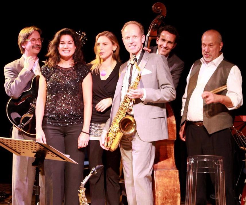 Die Ulf Ernst Swing Combination spielt am 9. Dezember auf dem Hof Akkerboom