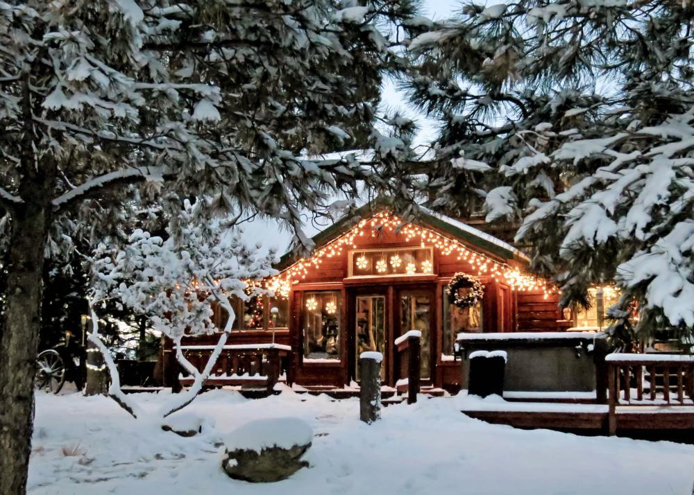 Hof Ansgarius mit weihnachtlichem Paradies