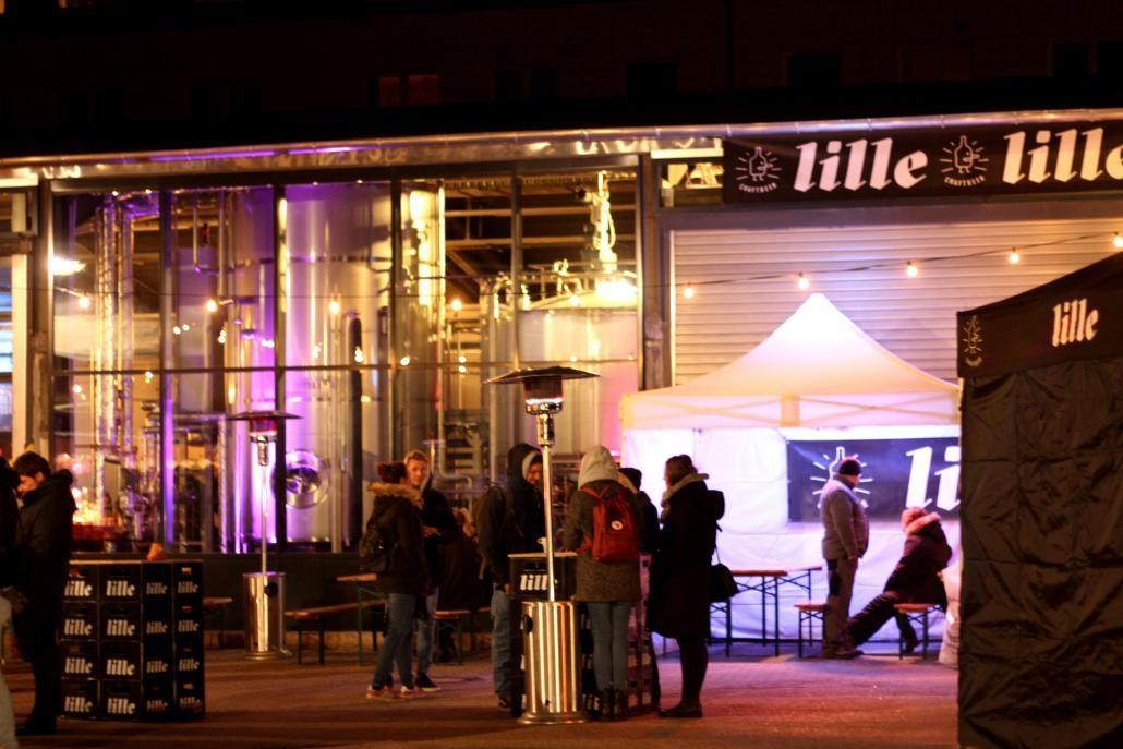 Lang ersehnt: Nach eineinhalb Jahren Umbau eröffnete die Lille-Brauerei im Dezember 2018
