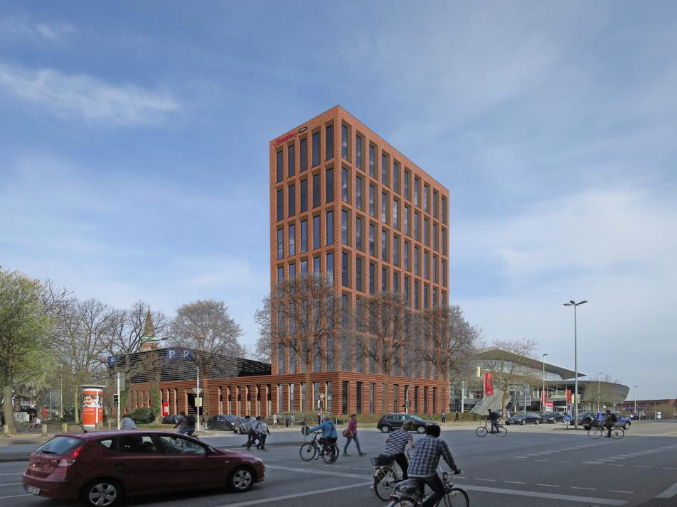 Mit neuen Hotels, wie hierbei der Sparkassen-Arena,wird Kiel für Gäste attraktiver